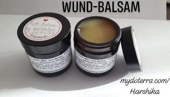 Wund-Balsam (Fett Balsam) Super bei wunder Haut oder Händen, wunden Baby Popo oder wunde Brust für stillende Mütter.